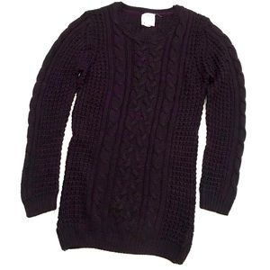 5$ ADD ON - SWS | Long Knitted Sweater